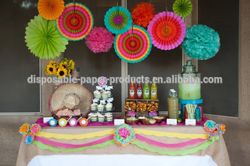 backdrop ideas for birthday party ; Pretty-Birthday-party-Decor-Backdrop-ideas-Tissue