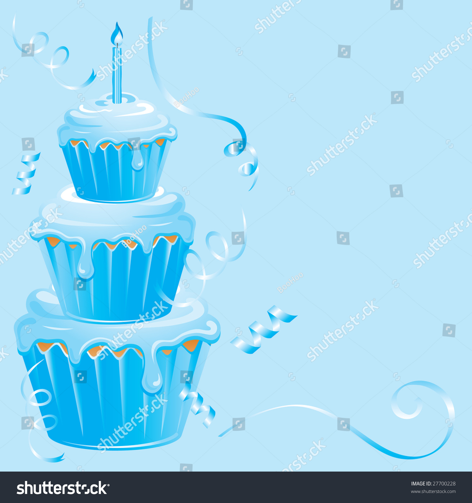 background birthday boy ; stock-photo-boy-s-birthday-cupcake-with-candle-confetti-streamers-on-a-pale-blue-background-27700228