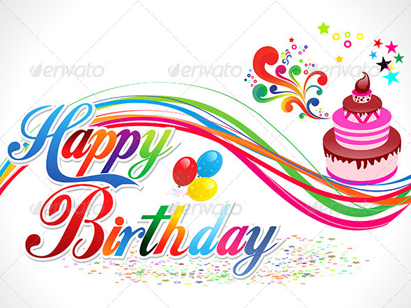 background design for birthday tarpaulin ; preview