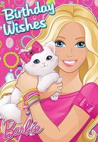 barbie birthday card printable ; 0defc3bee1e9261de064f07f001cb8c9