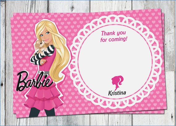 barbie birthday card printable ; barbie-thank-you-card-printable-birthday-party-by-partyprintouts-of-barbie-birthday-card-printable