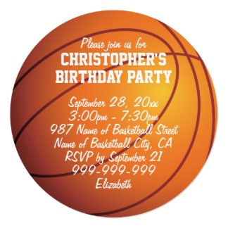 basketball birthday card templates ; New-Basketball-Birthday-Invitations-As-Birthday-Invitation-Templates