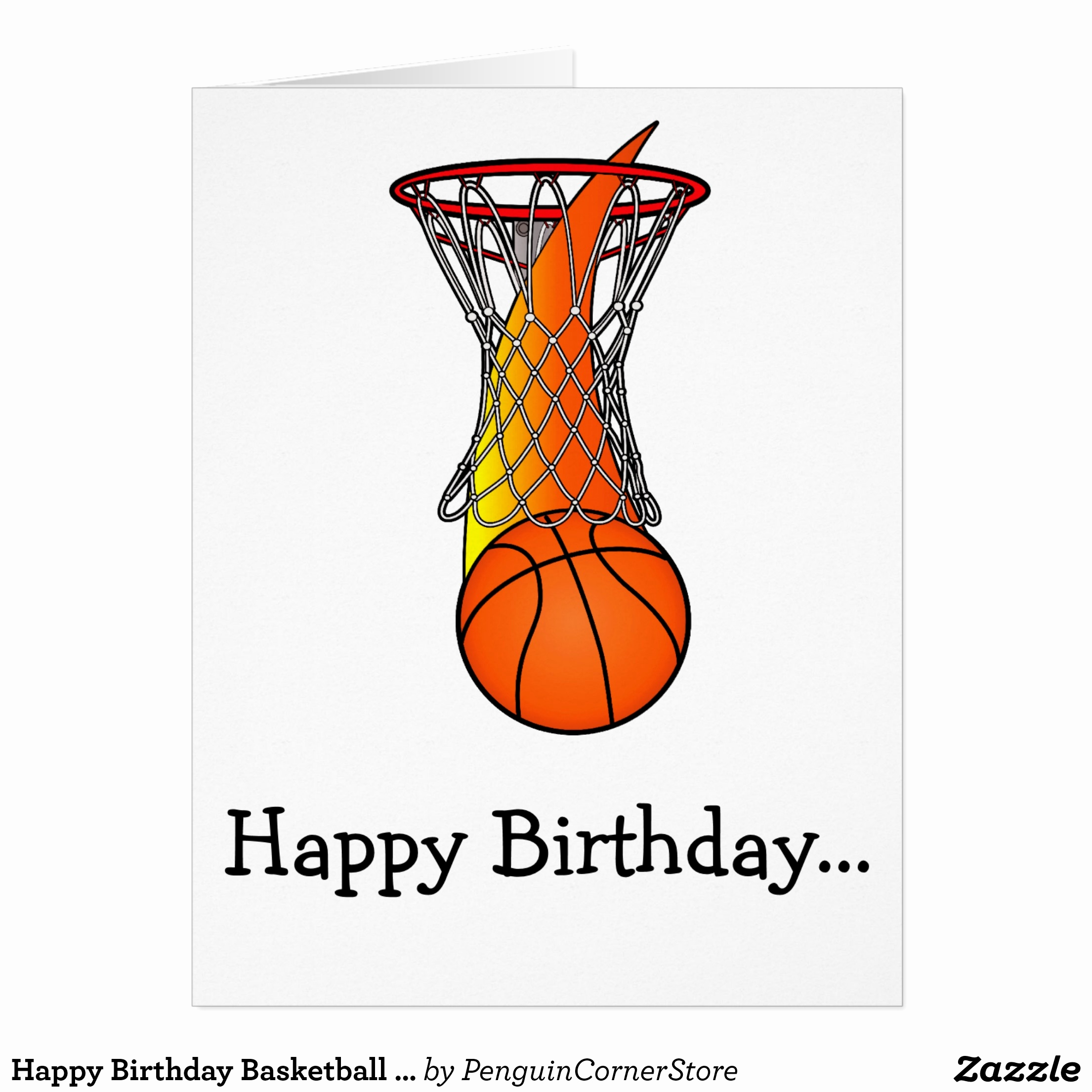 basketball birthday card templates ; basketball-birthday-card-templates-new-happy-birthday-basketball-from-the-whole-gang-card-of-basketball-birthday-card-templates