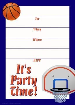 basketball birthday card templates ; basketball-birthday-card-templates-unique-496-best-free-printable-invitations-images-on-pinterest-of-basketball-birthday-card-templates