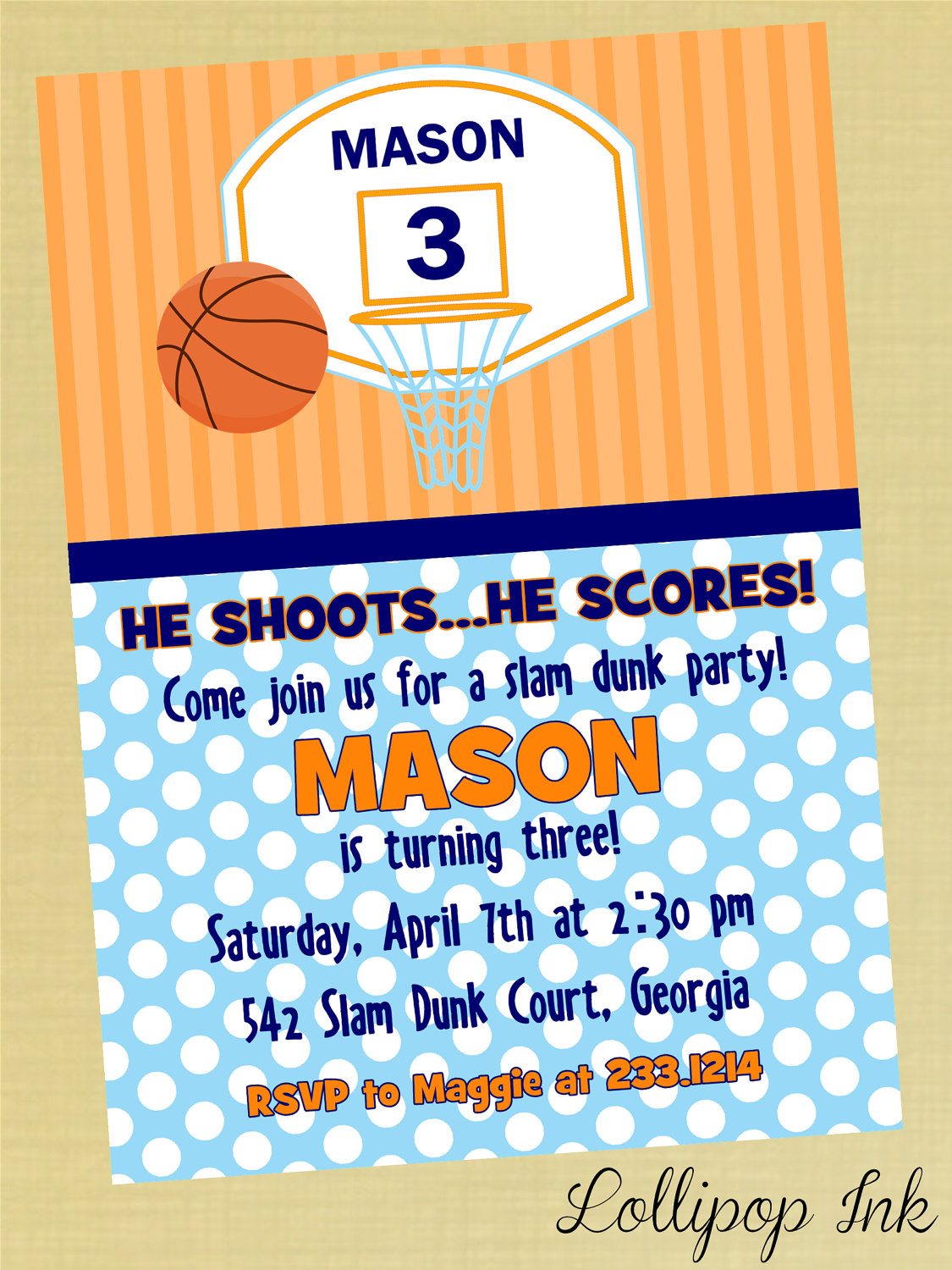 basketball birthday card templates ; basketball-birthday-invitations-with-some-fantastic-invitations-using-catchy-layout-of-Birthday-Invitation-Templates-20