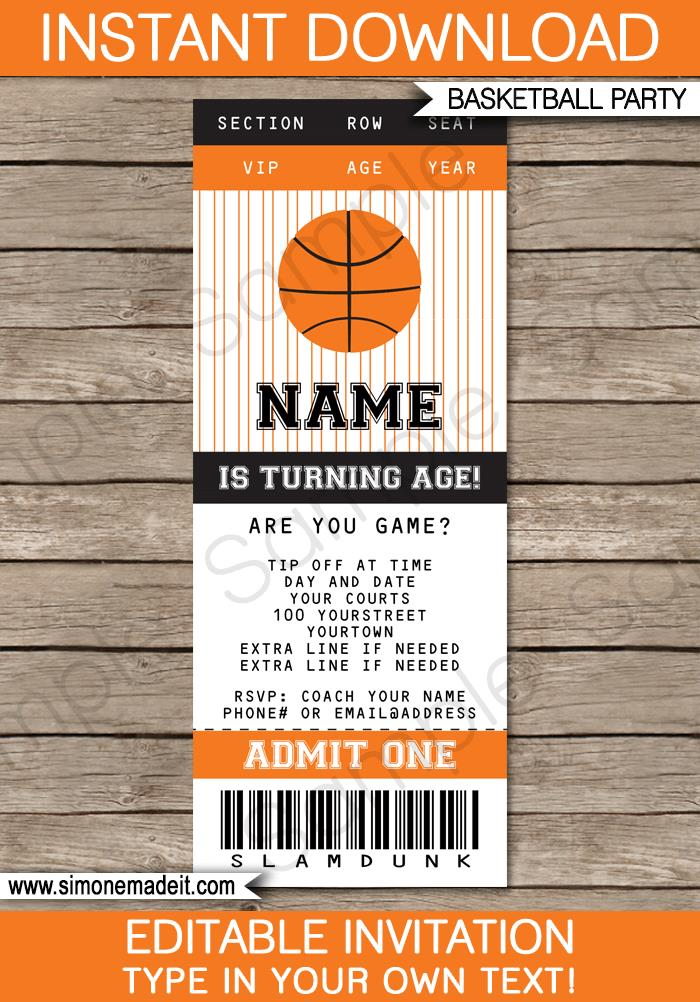 basketball birthday card templates ; basketball-birthday-invitations-with-stylish-ornaments-to-beautify-your-Party-Invitation-Cards-invitation-card-design-11