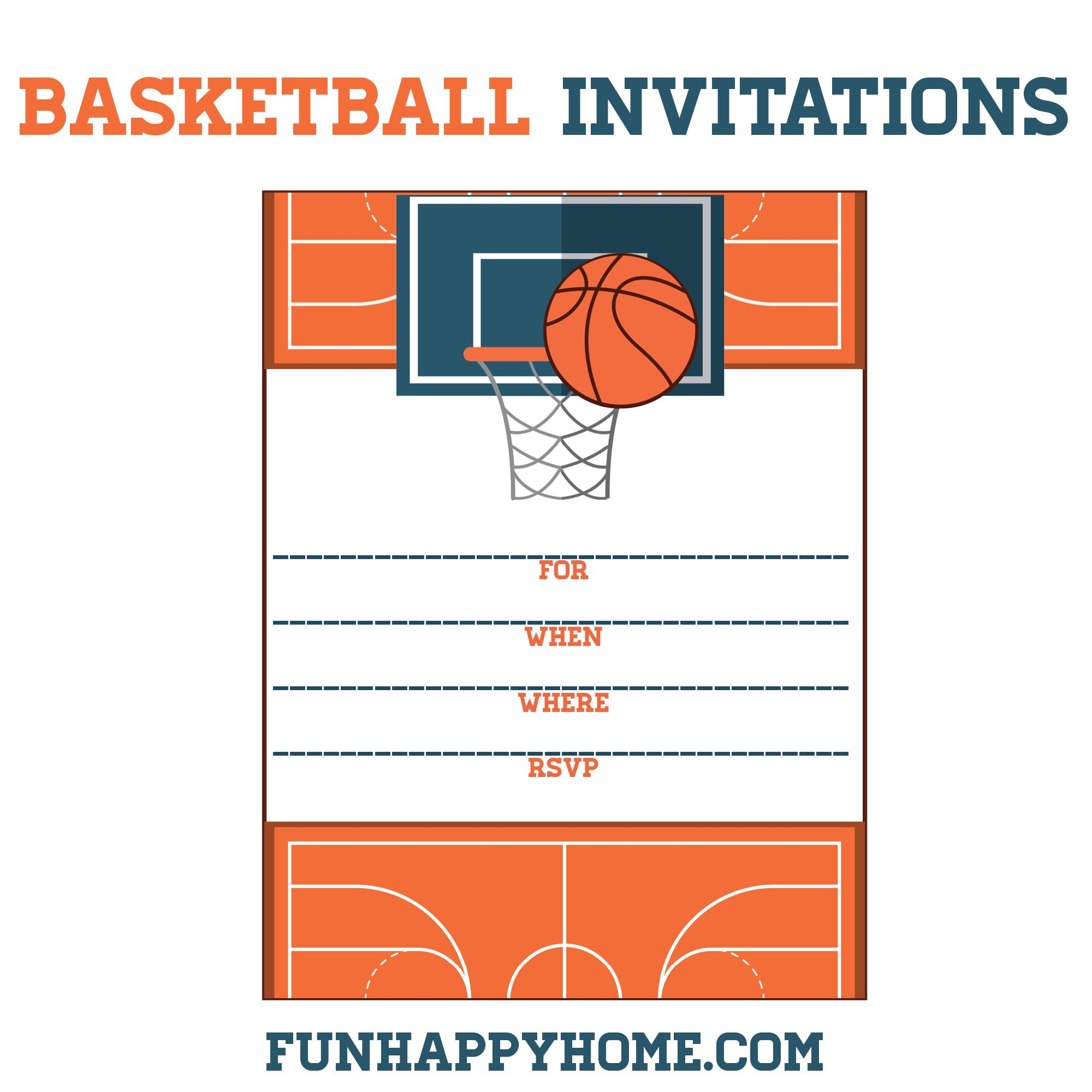 basketball birthday card templates ; e3af654445cefa7f0628e95902652b40
