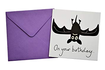 bat birthday card ; 71T-uFcXynL