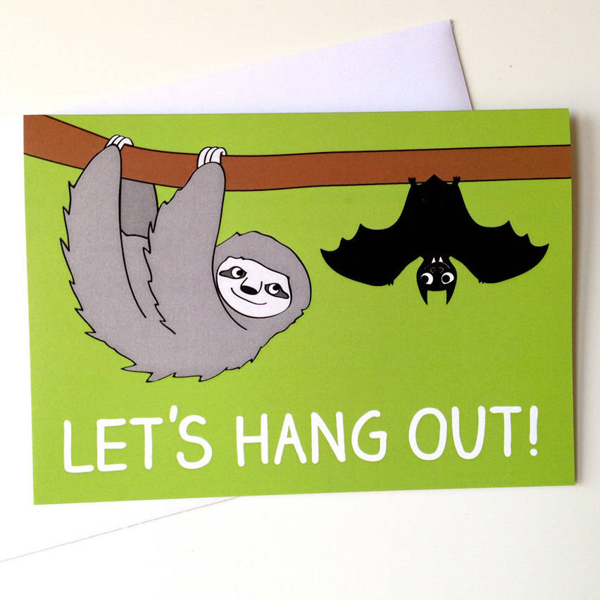 bat birthday card ; original_cute-friend-birthday-card-sloth-and-bat