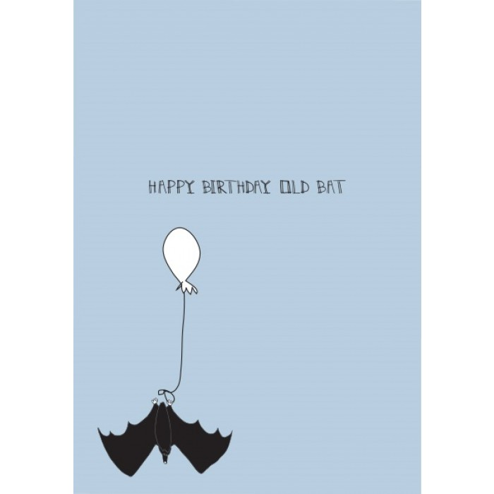 bat birthday card ; prod_34797