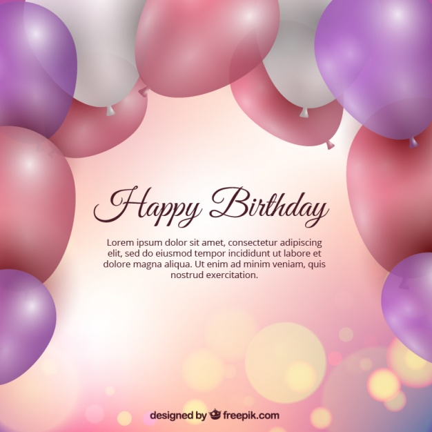 bday background ; birthday-background-with-balloons_23-2147590315