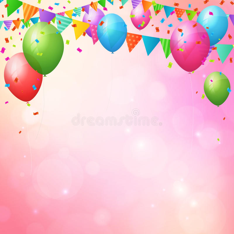 bday background ; happy-birthday-background-balloons-flags-poster-layered-52821181
