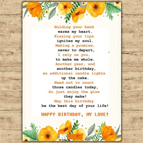 bday poem ; Fantastic-Birthday-Poem-for-Husband-and-Father-to-Show-Your-Affection