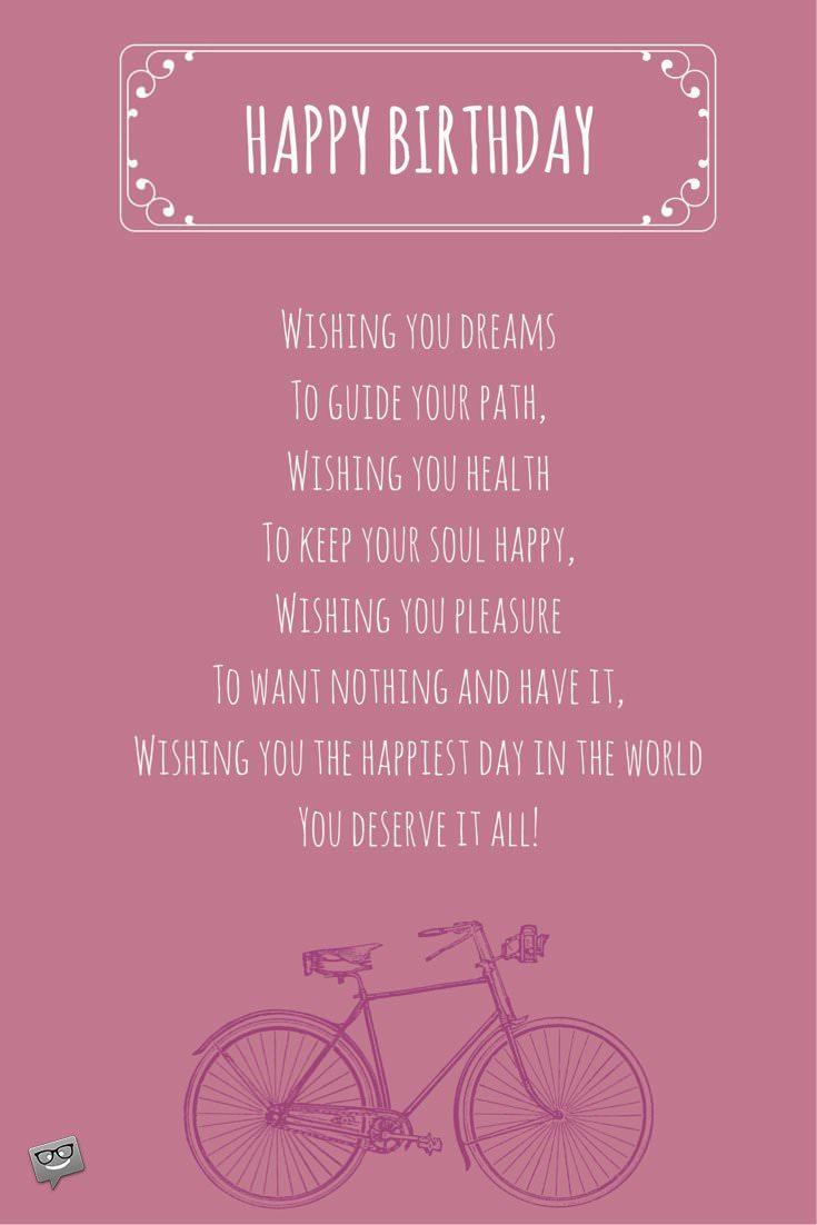 bday poem ; Poem-Wishing-you-dreamsTo-guide-your