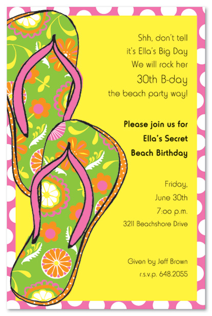 Beach Birthday Invitation Wording 2520theme2520birthday2520invitation2520wording2520