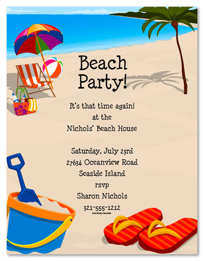beach birthday invitation wording ; beach-party-invitations-with-some-beautification-for-your-Party-Invitation-Templates-to-serve-fetching-environment-6
