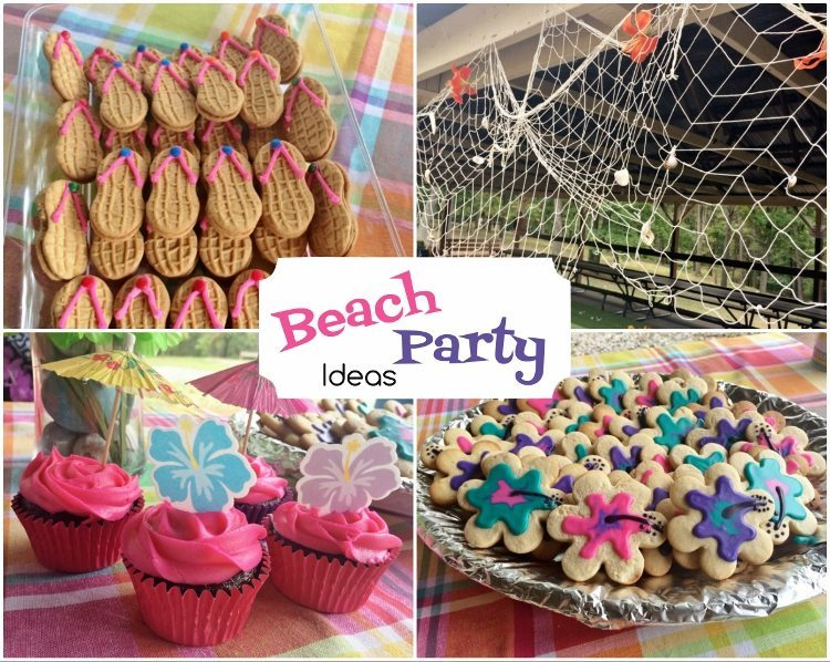 beach birthday party ; Beach-Party-Birthday-Ideas