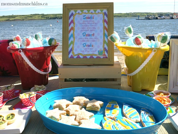 beach birthday party ; beach-party-ideas