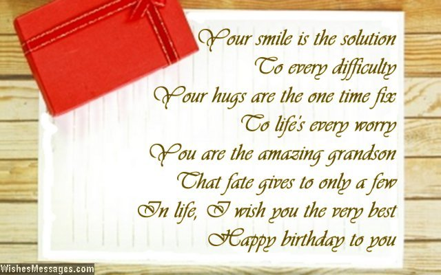 beautiful birthday card messages ; cute-birthday-card-messages-birthday-poems-for-grandson-wishesmessages-download
