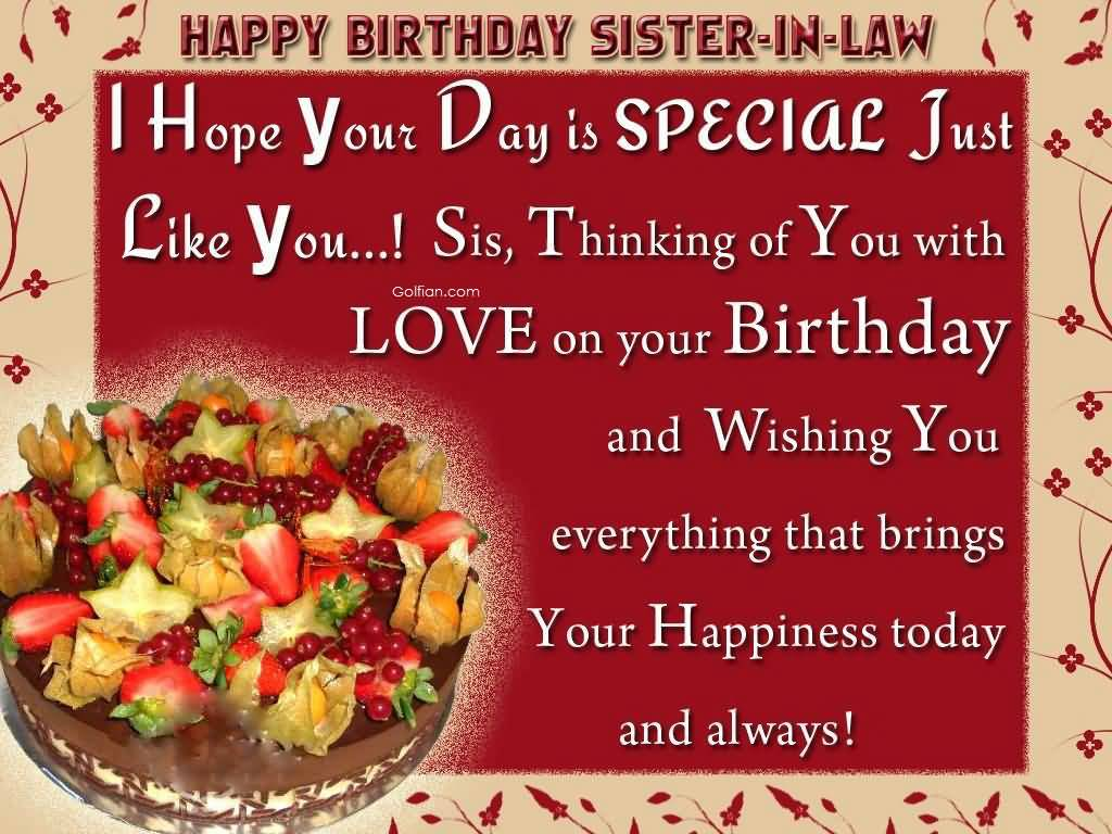 beautiful sentences for birthday ; Mind-Blowing-Cake-Birthday-Wishes-For-Sister-In-Law-Greetings