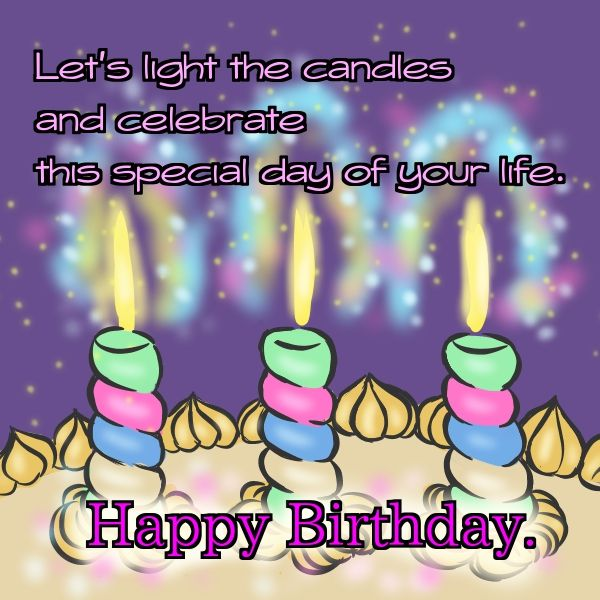 beautiful sentences for birthday ; birthday-wishes-with-candles-35