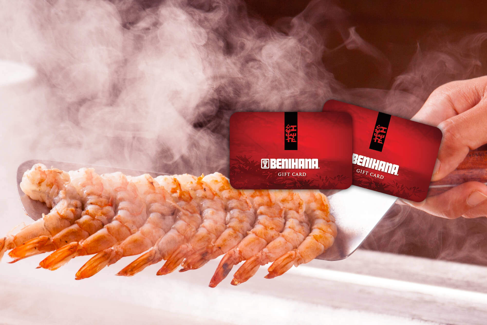 benihana birthday gift card ; Shrimpcooking_Giftcard-image