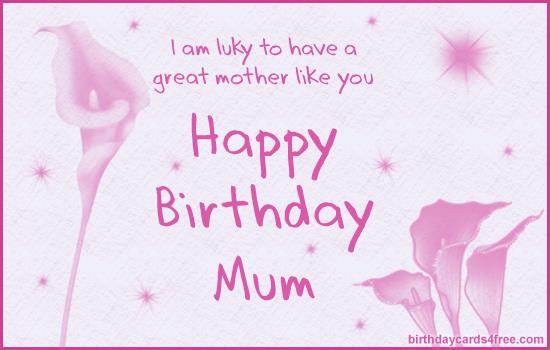 Best Birthday Card Messages For Mom