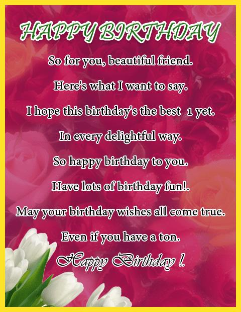 best birthday poems ; 439783ab3c848138bf416320f5a95d1e
