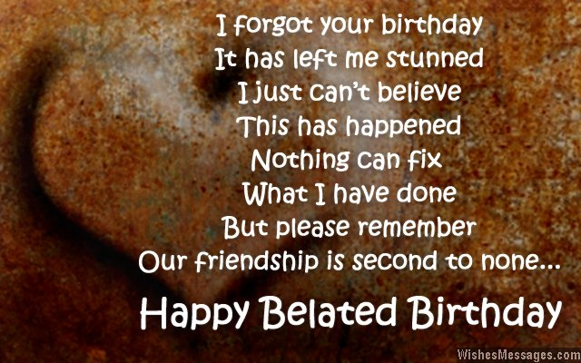 best birthday wish for best friend ever ; Sweet-belated-birthday-card-wishes-for-friends