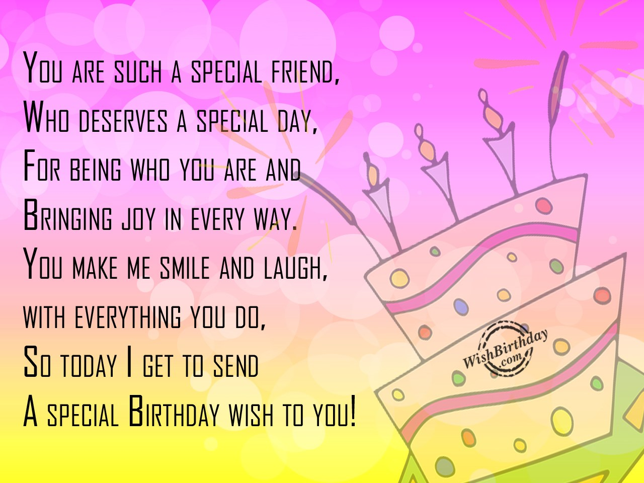 best birthday wish for best friend ever ; bday-wishes-for-friend-5