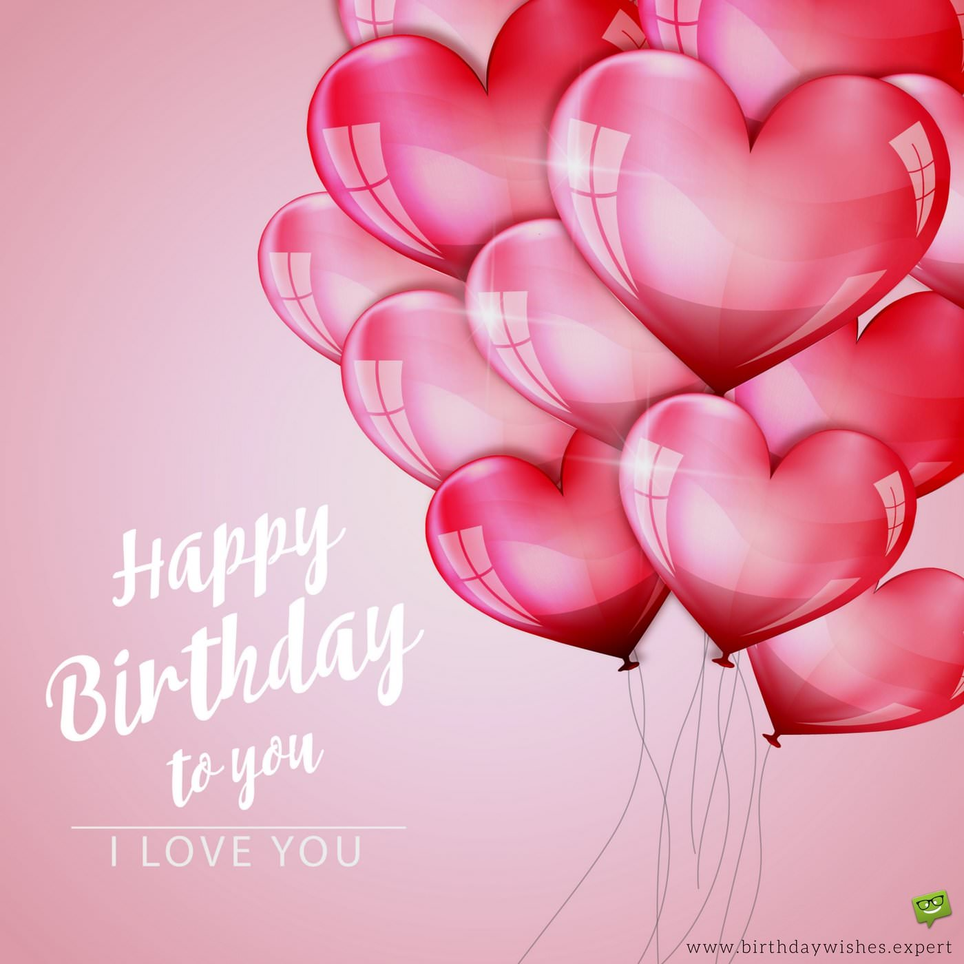 best way to wish happy birthday to girlfriend on facebook ; Birthday-wish-for-girlfriend-on-image-with-heart-shaped-love-balloons