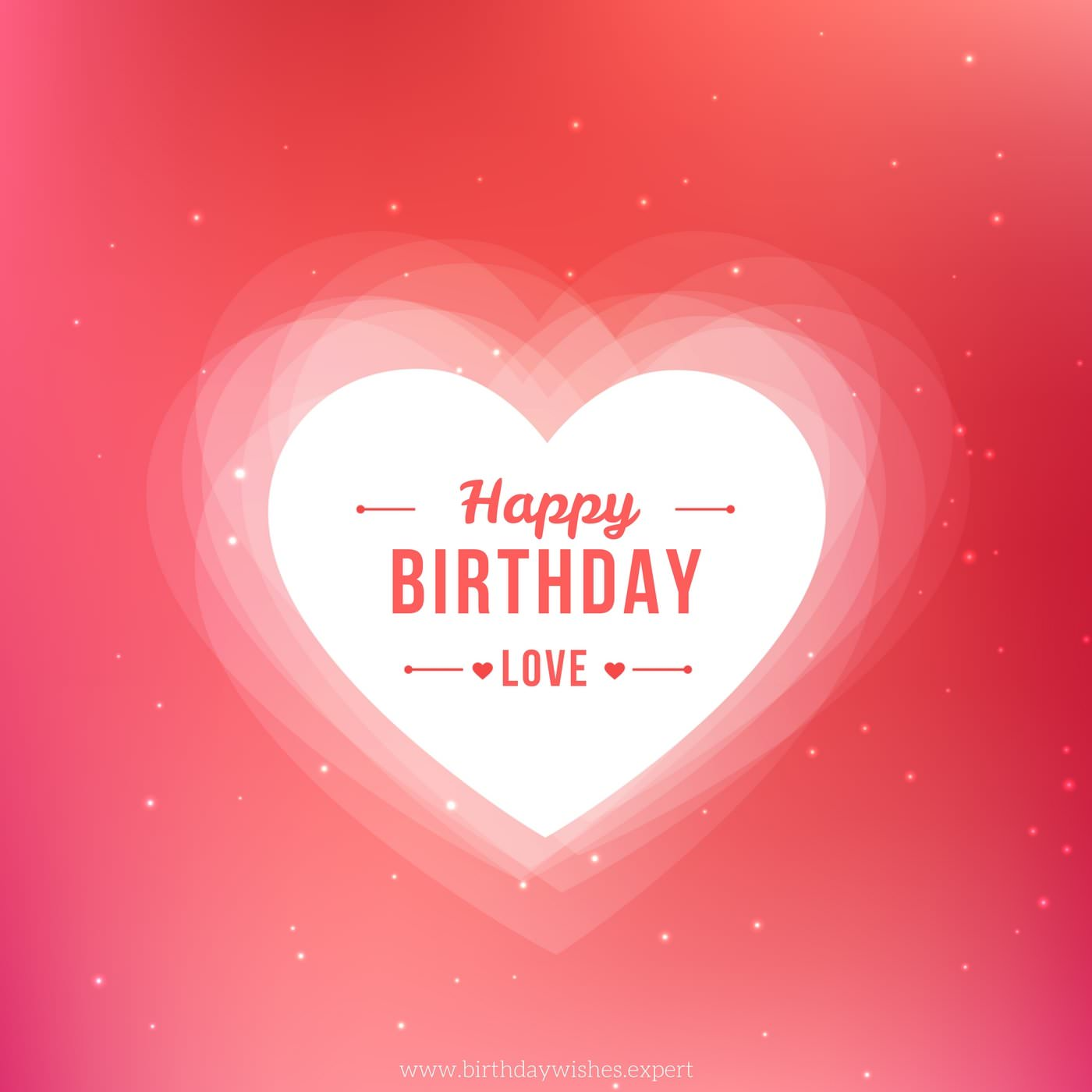 best way to wish happy birthday to girlfriend on facebook ; Happy-birthday-love