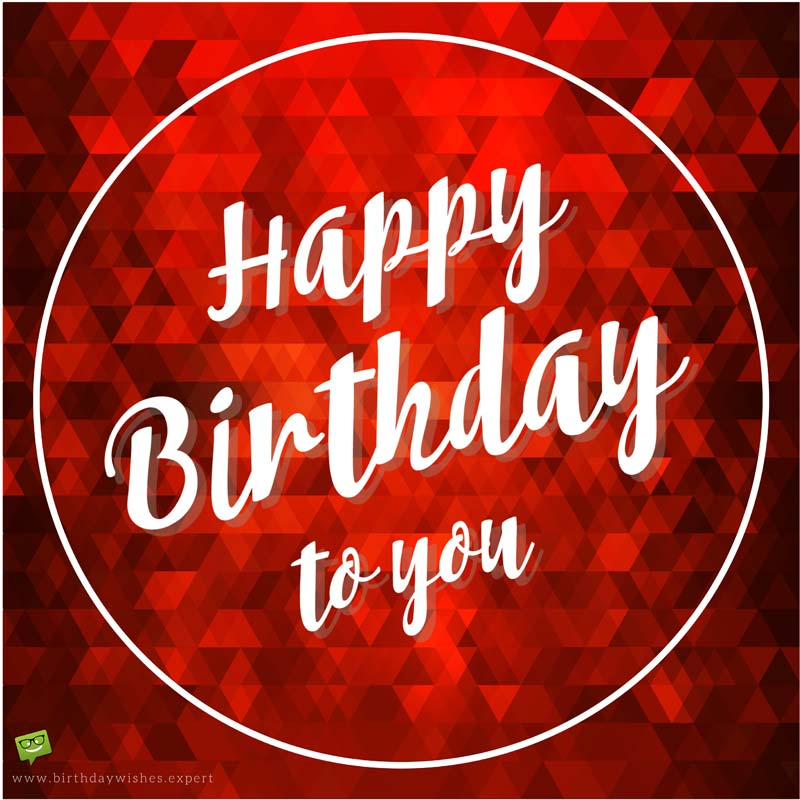 best way to wish happy birthday to girlfriend on facebook ; Romantic-birthday-wish-for-girlfriend-on-scarlet-red-background-3