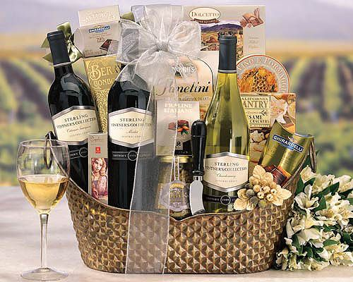 best wine for birthday gift ; cce30a5b6e1a333730105021a4eeed5d--cheese-gift-baskets-wine-gift-baskets