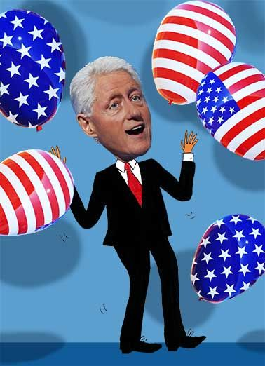 bill clinton birthday card ; 4f627c771a52dff0fe30dc1084fc41a2