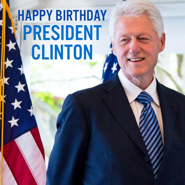 bill clinton birthday card ; BSC7uIoCUAEUERg