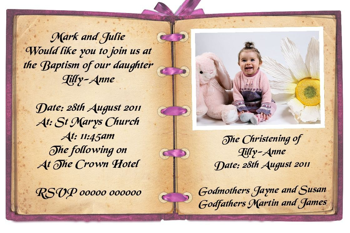 birthday and baptism invitation template ; first-birthday-and-baptism-invitation-wording