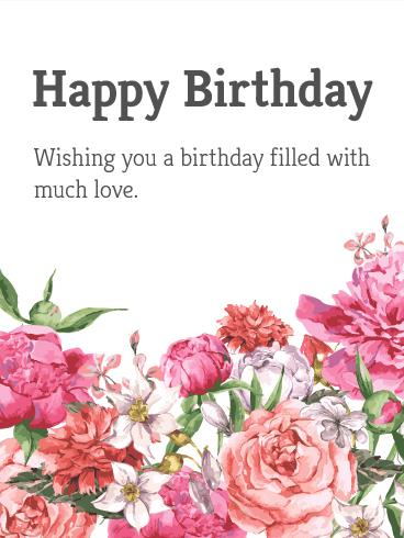 birthday and greeting cards by davia ; flowers-greeting-cards-garden-flower-happy-birthday-card-birthday-greeting-cards-davia
