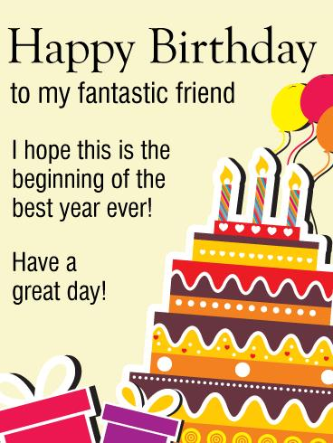 birthday and greeting cards by davia ; greeting-card-birthday-friend-have-a-good-day-happy-birthday-wishes-card-for-friends-birthday