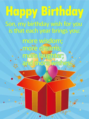 birthday and greeting cards by davia ; greeting-card-for-son-birthday-birthday-cards-for-son-birthday-greeting-cards-davia-free-download