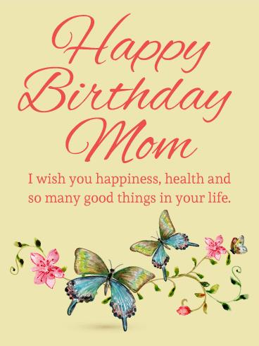 birthday and greeting cards by davia ; mother-birthday-cards-butterfly-birthday-card-for-mom-birthday-greeting-cards-davia-templates