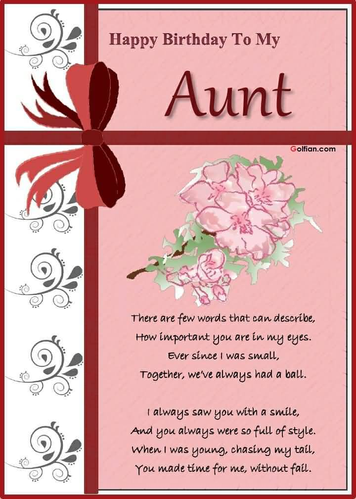 birthday aunt message ; Wonderful-Greetings-Birthday-Wishes-To-My-Aunt