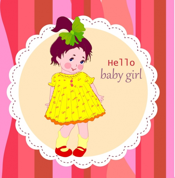 birthday background for baby girl ; baby_birthday_celebration_background_cute_girl_ornament_6828200