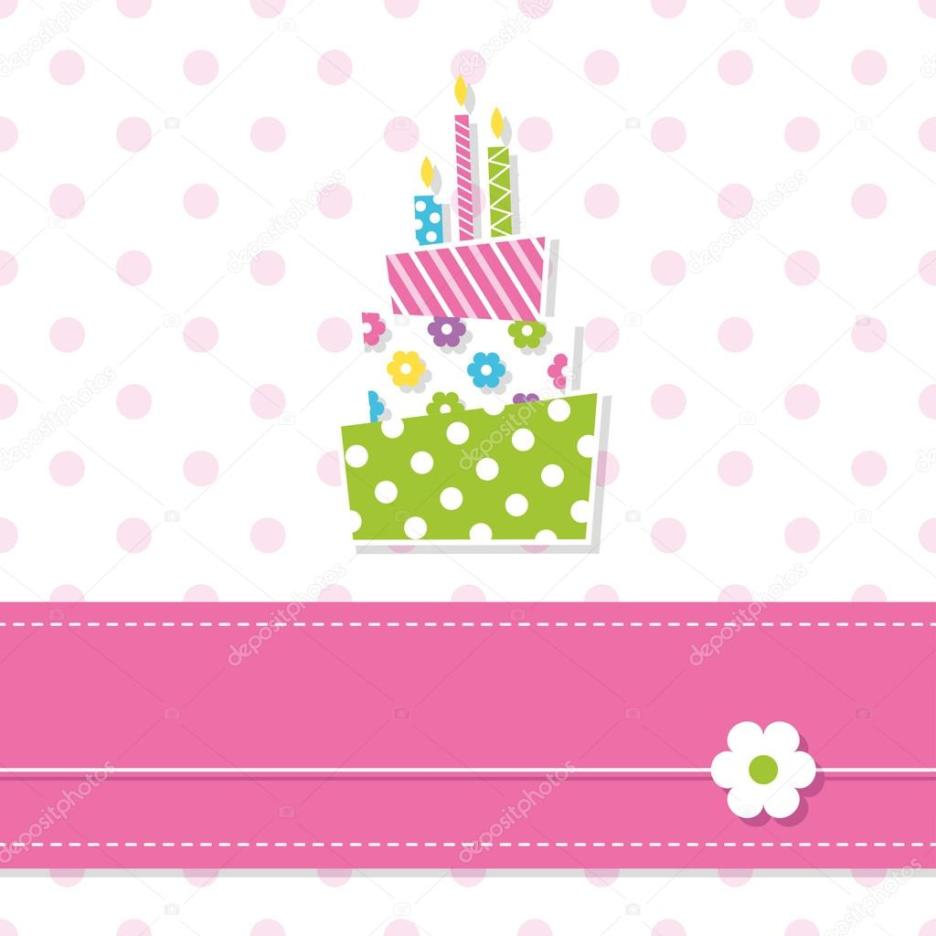 birthday background for baby girl ; depositphotos_62867133-stock-illustration-baby-girl-birthday-cake