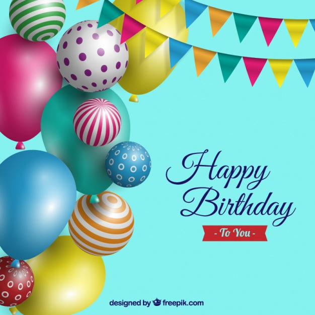 birthday background psd ; birthday-background-with-realistic-balloons_23-2147570876