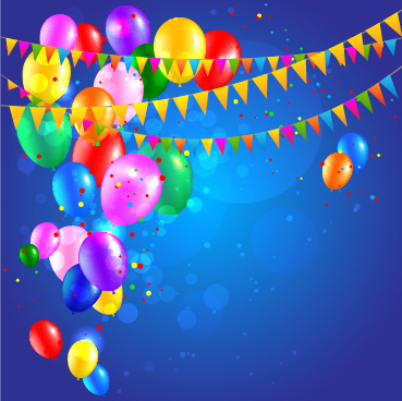 birthday background psd ; colored_confetti_with_happy_birthday_background_vector_545061