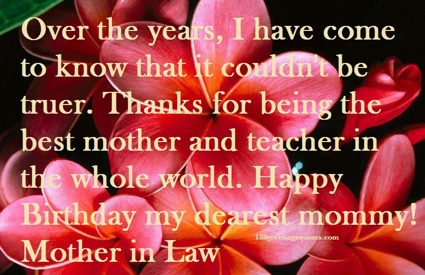 birthday blessing message for son ; Mother-In-Law-Happy-birthday-greetings