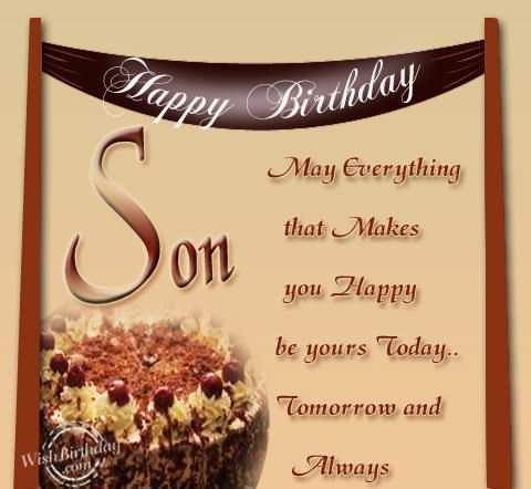 birthday blessing message for son ; cute-happy-birthday-wishes-for-son-from-father-and-mother%252B%25252810%252529