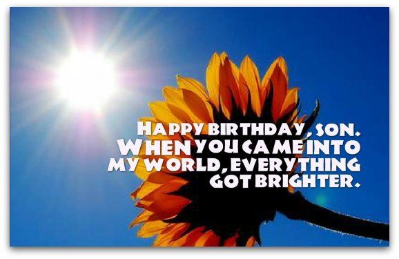 birthday blessing message for son ; son-birthday-wishes1B