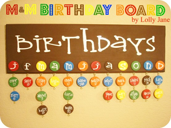 birthday board ; mm-birthday-board-by-lolly-jane